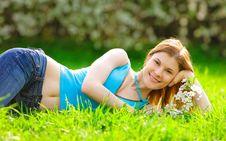 Free Beautiful Girl Outdoors Stock Photo - 9536960