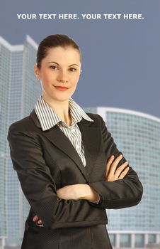 Free Attractive Business Woman Stock Photography - 9537182