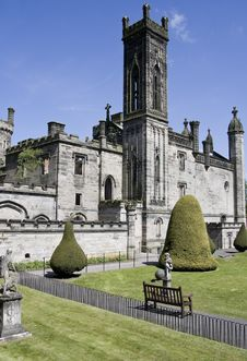 Free Gothic Ruins In The British Countryside Stock Photography - 9537722
