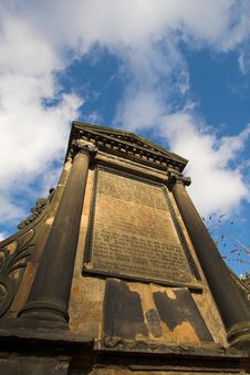 Covenanter Martyrs Memorial. Greyfriars Kirkyard, Royalty Free Stock Photos