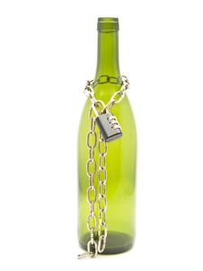 Free Bottle Chained Stock Images - 9537904
