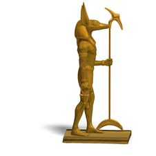 Free Statue Of Egyptian God Anubis Stock Photography - 9537932