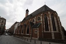 Free Brussels Church Royalty Free Stock Photo - 9537985