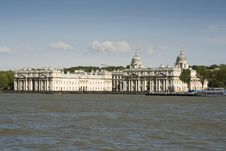 Free The Old Royal Naval College In Greenwich Stock Photo - 9538170