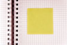 Free Notebook Stock Photography - 9538282
