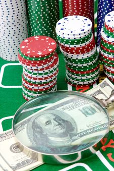 Free Casino Royalty Free Stock Image - 9539366
