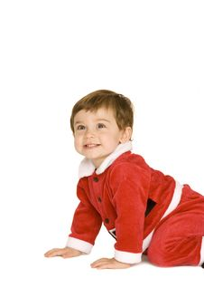 Free Santa Baby Stock Image - 9539621