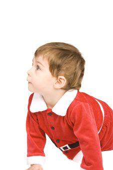Free Santa Baby Royalty Free Stock Images - 9539669