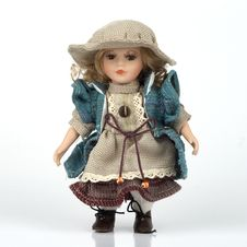 Ceramic Old Dolly Stock Images