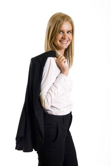 Free Picture Of An Attractive Businesswoman Stock Image - 9539771