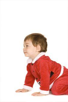 Free Santa Baby Royalty Free Stock Image - 9539996