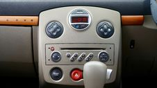 Free Car Central Console Stock Photography - 95317962