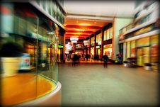 Free Interior Of Shopping Center With Blur Of Motion Stock Photo - 95318150
