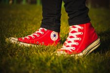 Free Converse All Star Royalty Free Stock Photography - 95354957