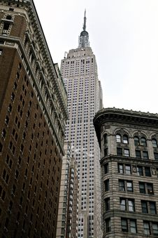 Free Empire State Building New York Stock Image - 95354971