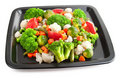Free Fresh Vegetables On Plate Royalty Free Stock Photos - 9541638