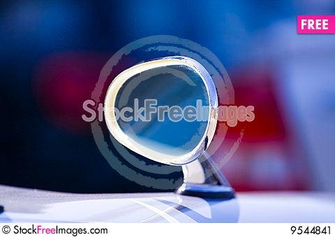 Free Rear View Mirror Stock Image - 9544841