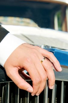Free Male Wedding Ring Royalty Free Stock Photography - 9540337