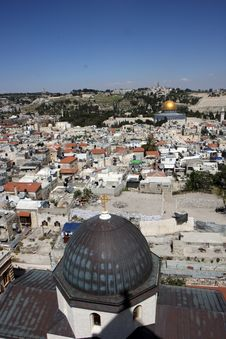 Free Old Jerusalem City Royalty Free Stock Photo - 9540585