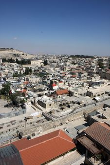 Free Old Jerusalem City Stock Image - 9540621
