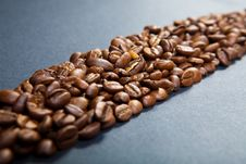 Free Coffee Strip Royalty Free Stock Images - 9540739