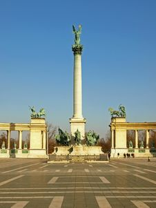 Free Heroes Square Royalty Free Stock Photo - 9541275