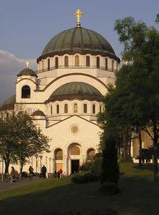 Free Temple Of Sveti Sava Royalty Free Stock Photos - 9541608