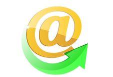 E-mail Simbol Stock Image