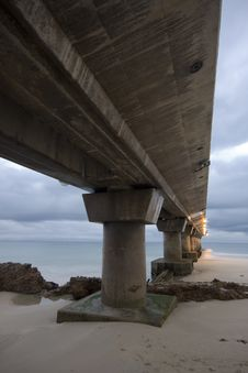 Free Under The Pier Stock Image - 9542541