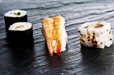 Free Sushi Royalty Free Stock Photography - 9542647