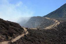 Free Kawah Ijen Volcano On Java, Indonesia Stock Photos - 9543013