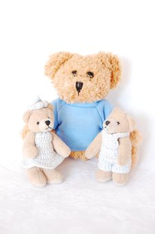 Free Teddy-bear Family Stock Photo - 9543100