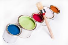 Free Paint Palette Stock Photos - 9543273