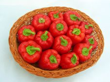 Free Red Capsicum Background Royalty Free Stock Photography - 9543407