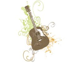 Free Guitar Royalty Free Stock Photography - 9545137