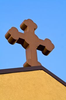 Free Church Cross Royalty Free Stock Photography - 9545567