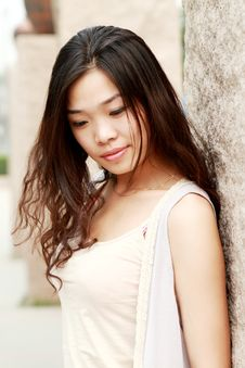 Free Asian Girl In Summer Royalty Free Stock Images - 9545779