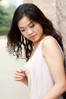 Free Asian Girl In Summer Stock Photos - 9545823
