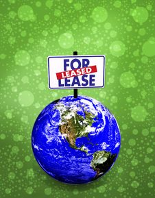 Free 3d Earth For Lease Royalty Free Stock Images - 9546019
