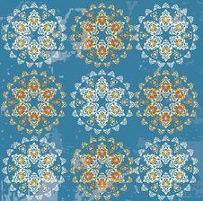 Free Antique Ottoman Grungy Wallpaper Raster Design Stock Photos - 9546273