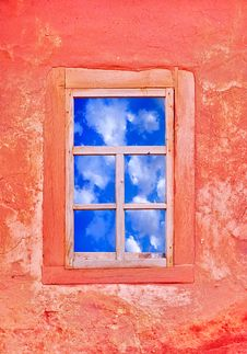 Free Window With A Sky View Stock Photography - 9546342