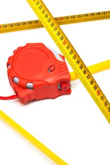 Free New Tape-measure Stock Photography - 9546412