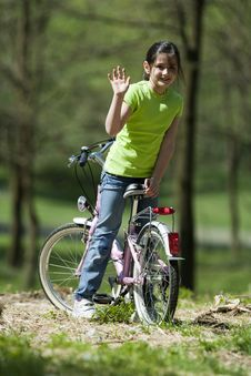 Free Young Biker Stock Photos - 9547623