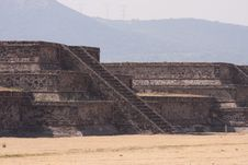 Teotihuacan Piramides Stock Photography