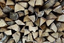 Free Pile Of Firewood Royalty Free Stock Photo - 9549745
