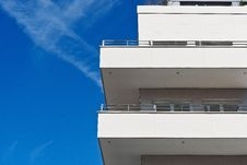 Free Balconies On Apartment Building Royalty Free Stock Images - 95409489