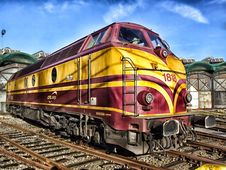 Free Track, Locomotive, Train, Transport Stock Photography - 95450512