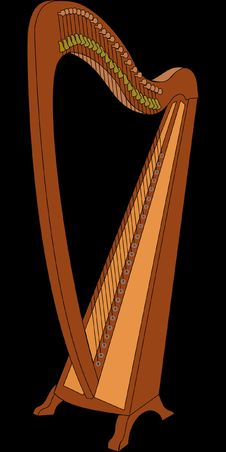 Free Harp, Clàrsach, Konghou, Musical Instrument Royalty Free Stock Photo - 95452415