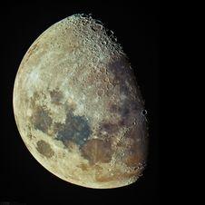Free Tonight S Waxing Gibbous Moon Royalty Free Stock Photo - 95476755