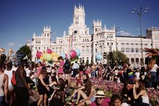 Free World Pride Madrid 2017 Royalty Free Stock Photo - 95476785